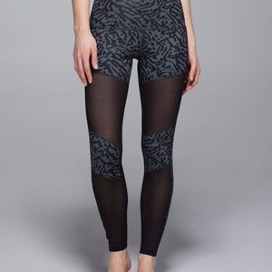 Lululemon Hot to Street Animal Print Leggings